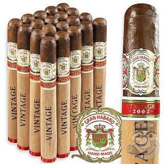 Blind Cigar Review: Gran Habano | Vintage 2002 Corojo Churchill
