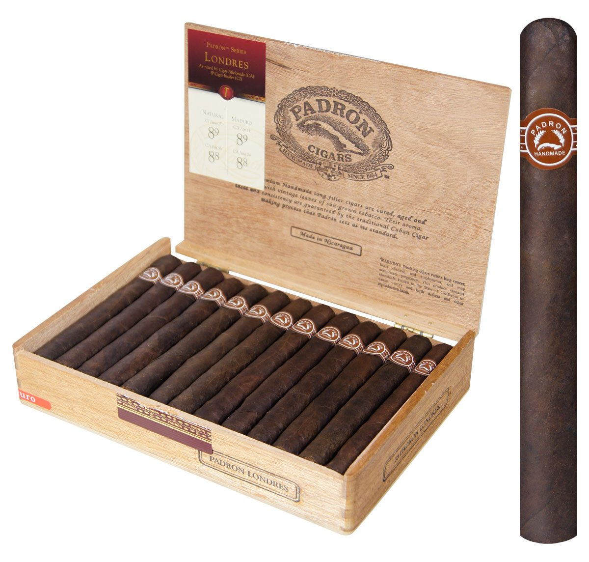 Blind Cigar Review: Padron | Londres Maduro