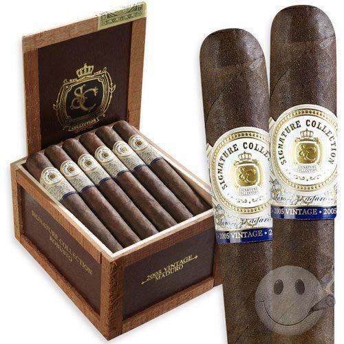 Blind Cigar Review: Signature Collection Vintage 2005 Maduro Corona