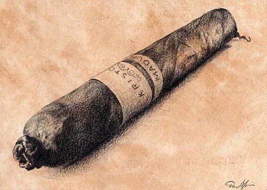 "Contest: Win a Darrel Morris ""Kristoff Still Life"" Cigar Art Print"