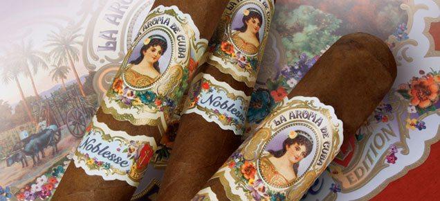Cigar News: Ashton to Debut Noblesse  – Limited Edition La Aroma de Cuba at IPCPR