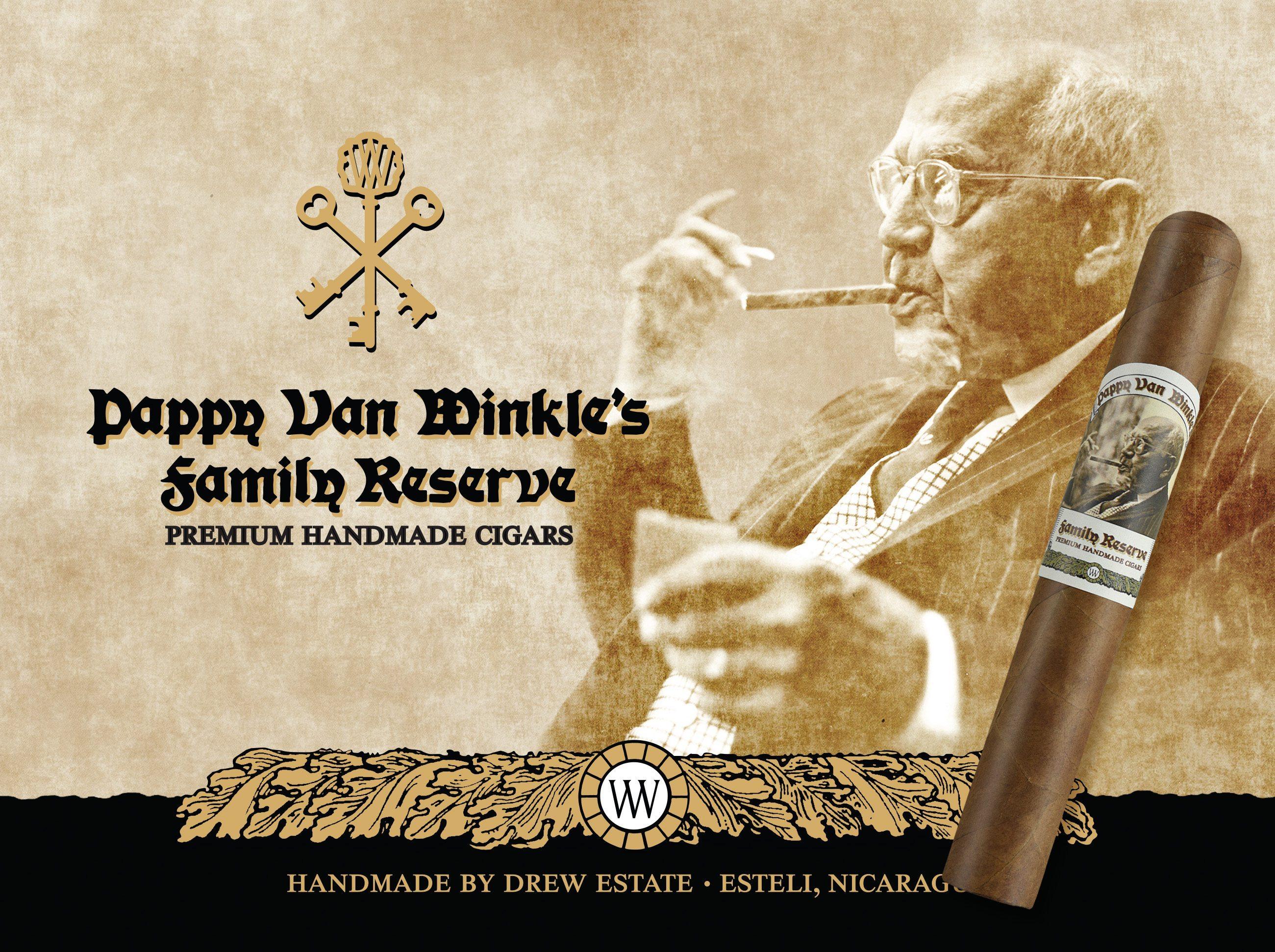 "Cigar News: Drew Estate Announces ""Pappy Van Winkle's Family Reserve"" Cigar"
