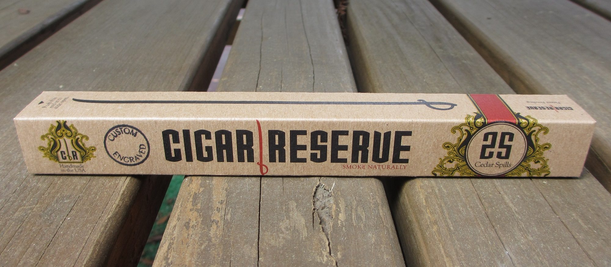 Accessory Review: Cigar Reserve | Cedar Spills and a Giveaway