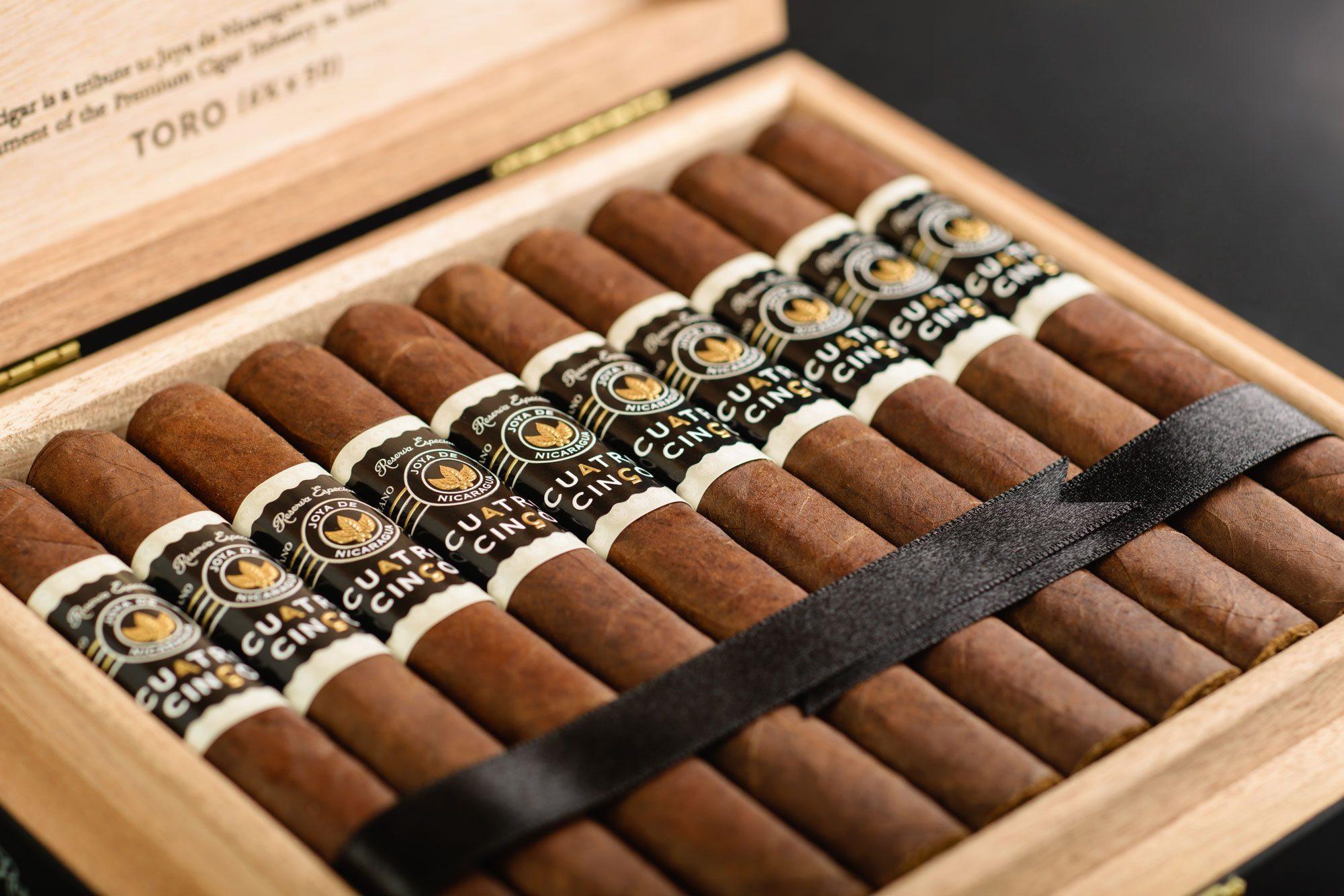Cigar News: Joya de Nicaragua Announces Cuatro Cinco –  Edición Limitada