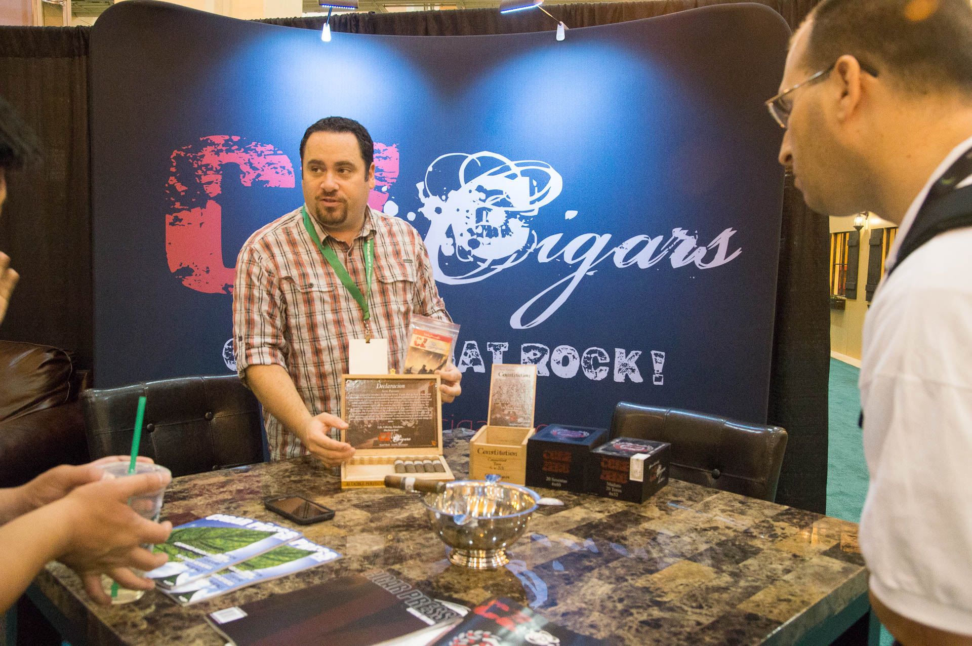 IPCPR: The Show in Pictures 2015 – CZ Cigars