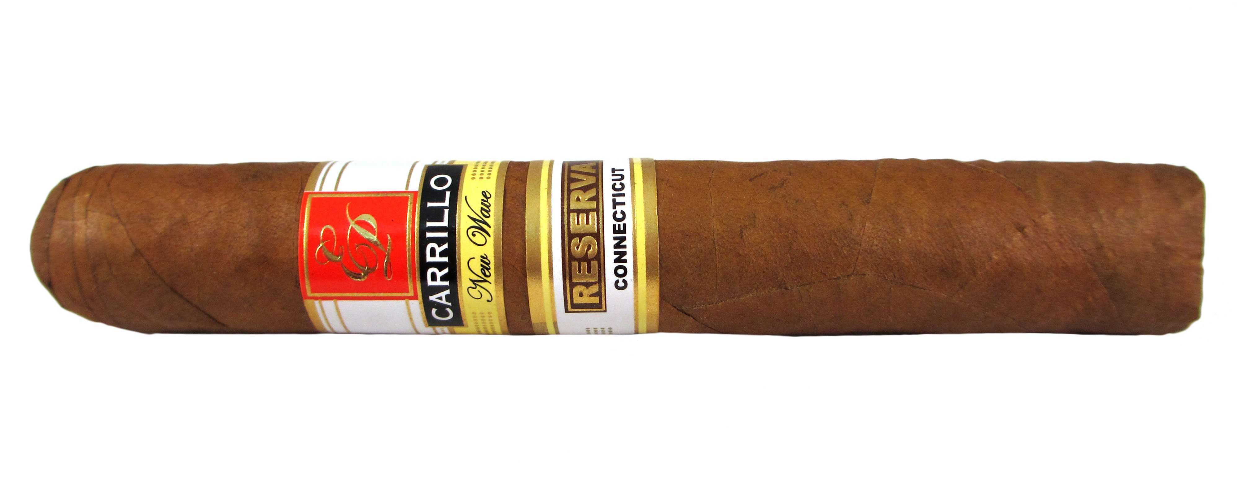 Blind Cigar Review: E.P. Carrillo | New Wave Connecticut Reserva Robusto