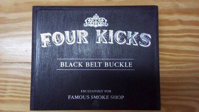 """Cigar News: Famous Smoke Announces Four Kicks """"Black Belt Buckle"""" Exclusive"""