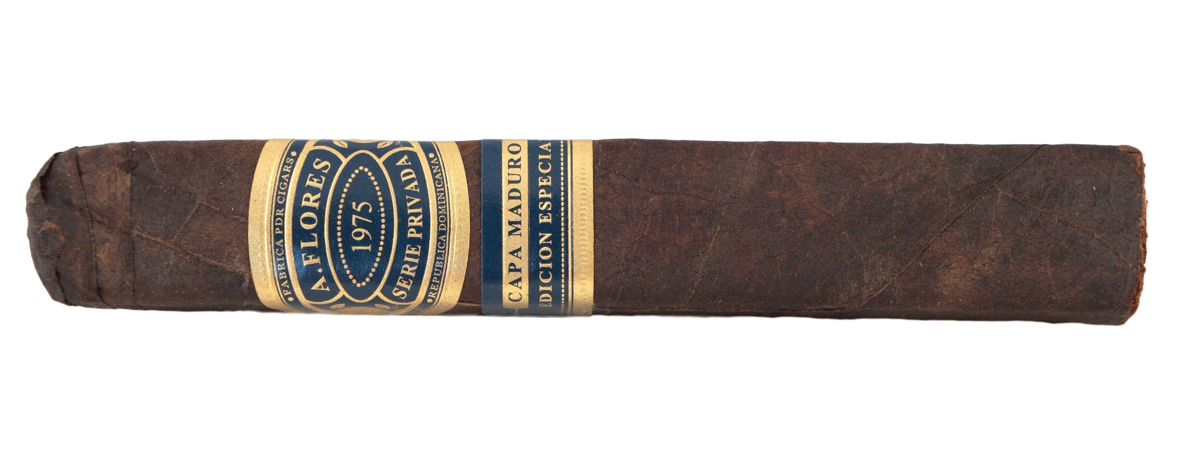 Blind Cigar Review: A. Flores | 1975 Serie Privada Capa Maduro SP52