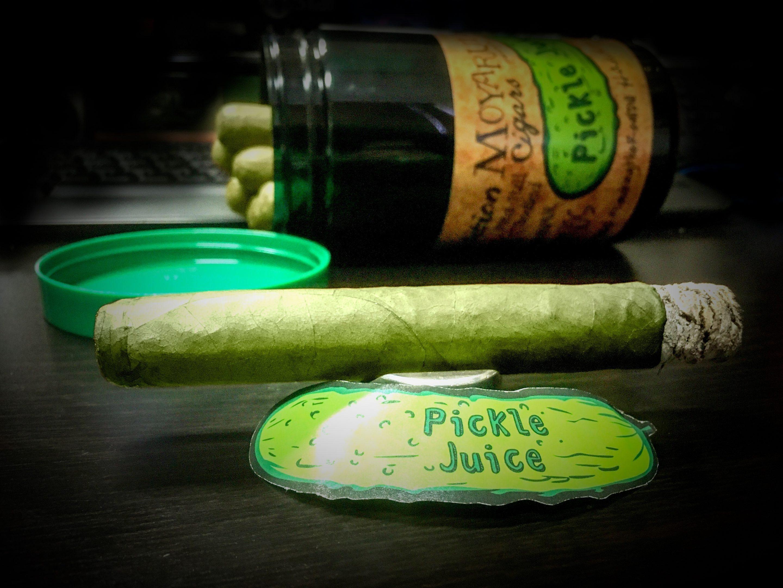 Cigar News: MoyaRuiz Cigars Announces New Pickle Juice