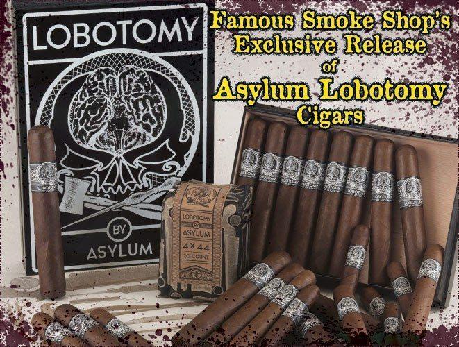 Cigar News: Famous Smoke Shop Gets Asylum Lobotomy Exclusive Cigar
