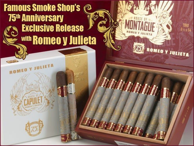 Cigar News: Famous Smoke Announces Exclusive Romeo y Julietas