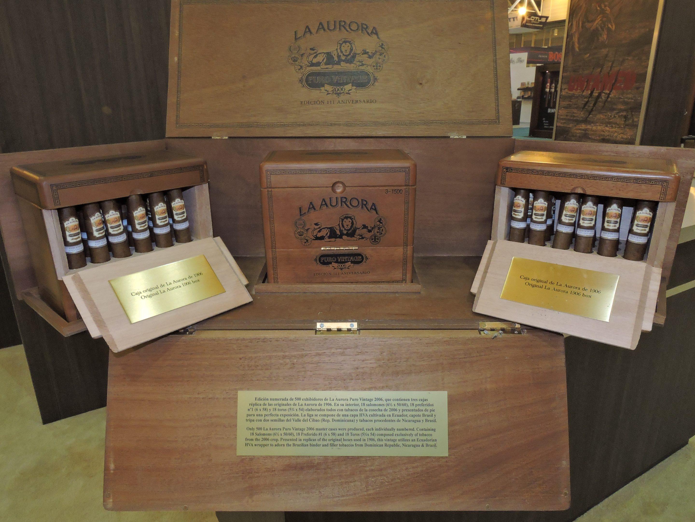 Cigar News: La Aurora Shipping Puro Vintage 2006 111 Aniversario Master Cases Series