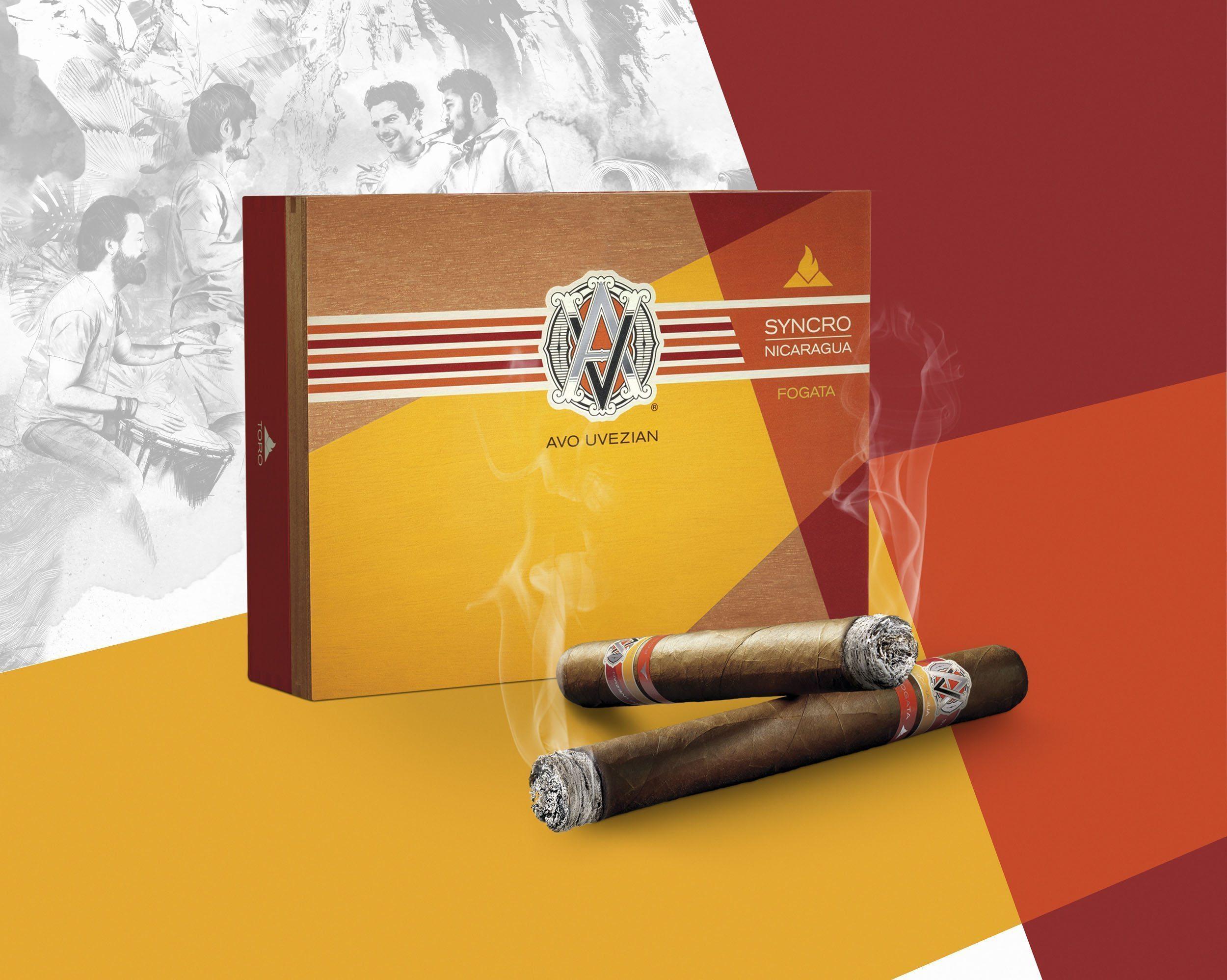 Cigar News: Davidoff Announces AVO Syncro Nicaragua Fogata