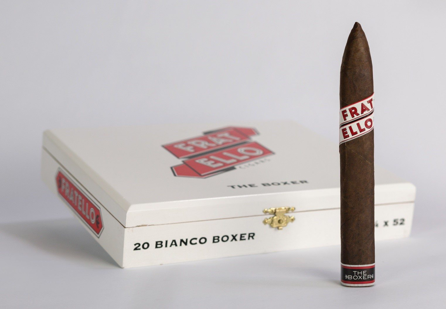 Cigar News: Fratello Introduces Bianco Boxer