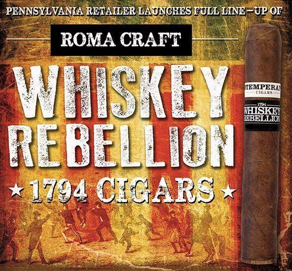 Cigar News: Famous Smoke Makes the RoMa Craft Whiskey Rebellion Regular Production