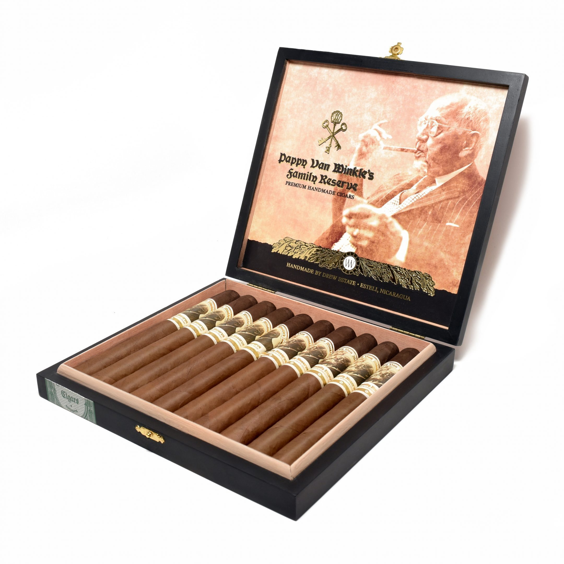 Cigar News: Drew Estate Announces Pappy Van Winkle Family Reserve Churchill and Pappy Drew Limitada