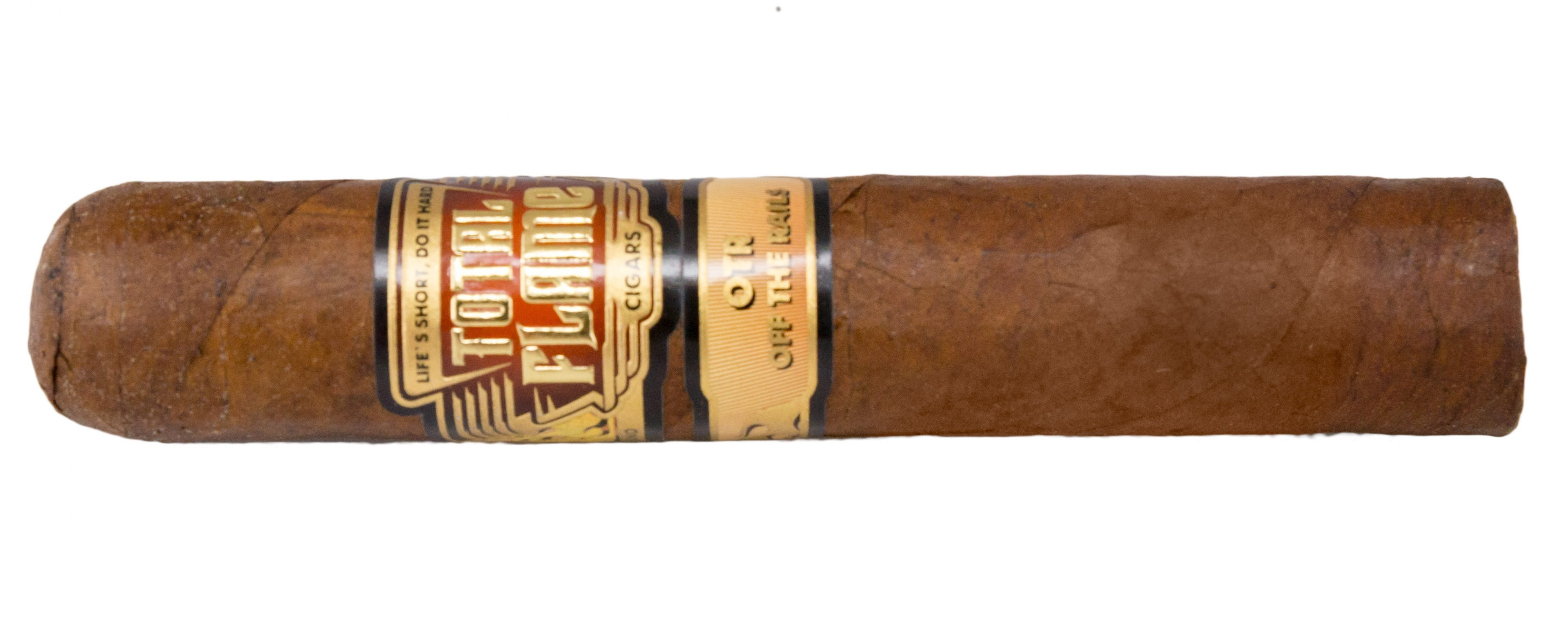 Blind Cigar Review: Total Flame   OTR (Off The Rails)