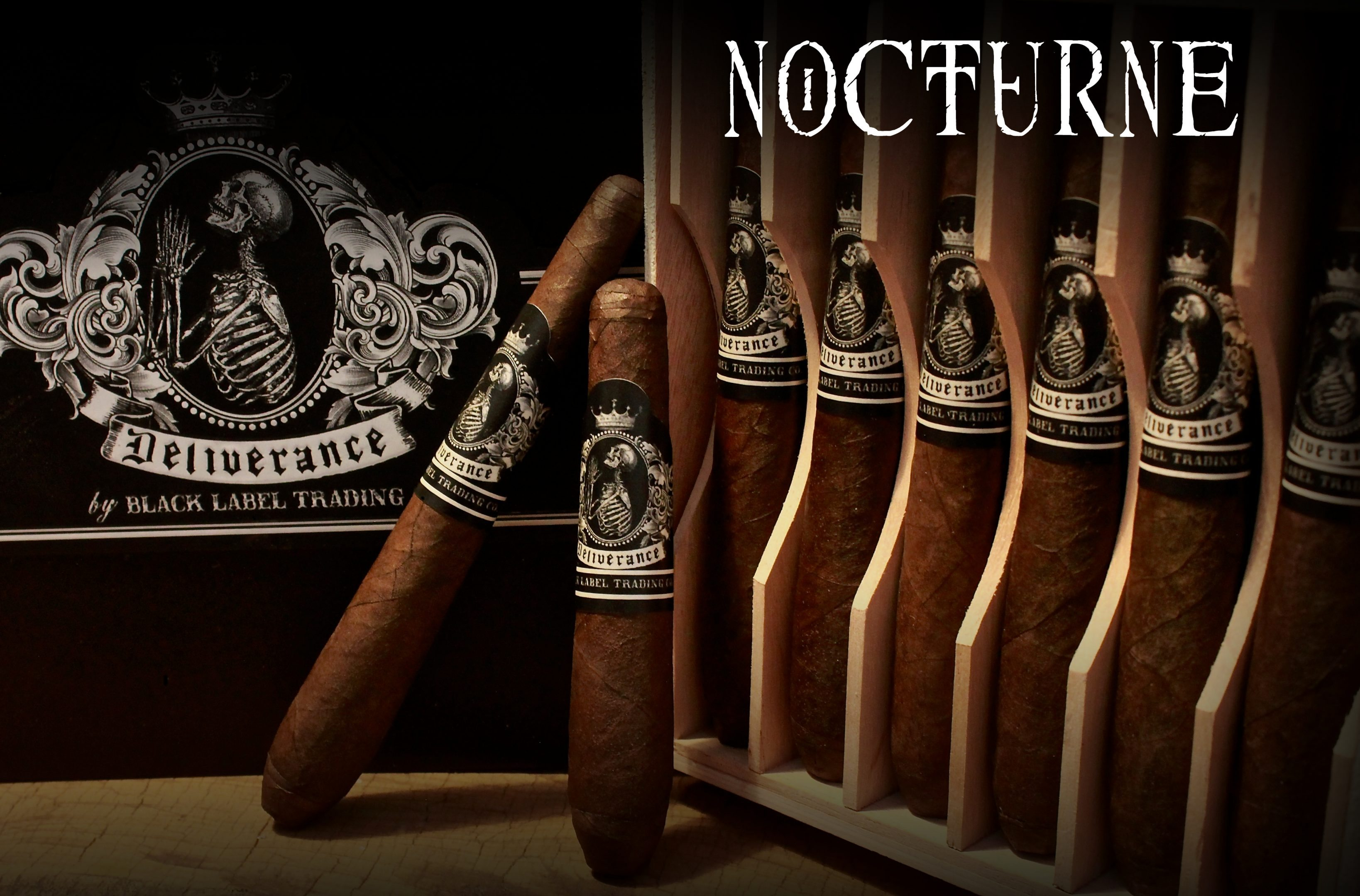 Cigar News: Black Label Trading Company Shipping Deliverance Nocturne 2016
