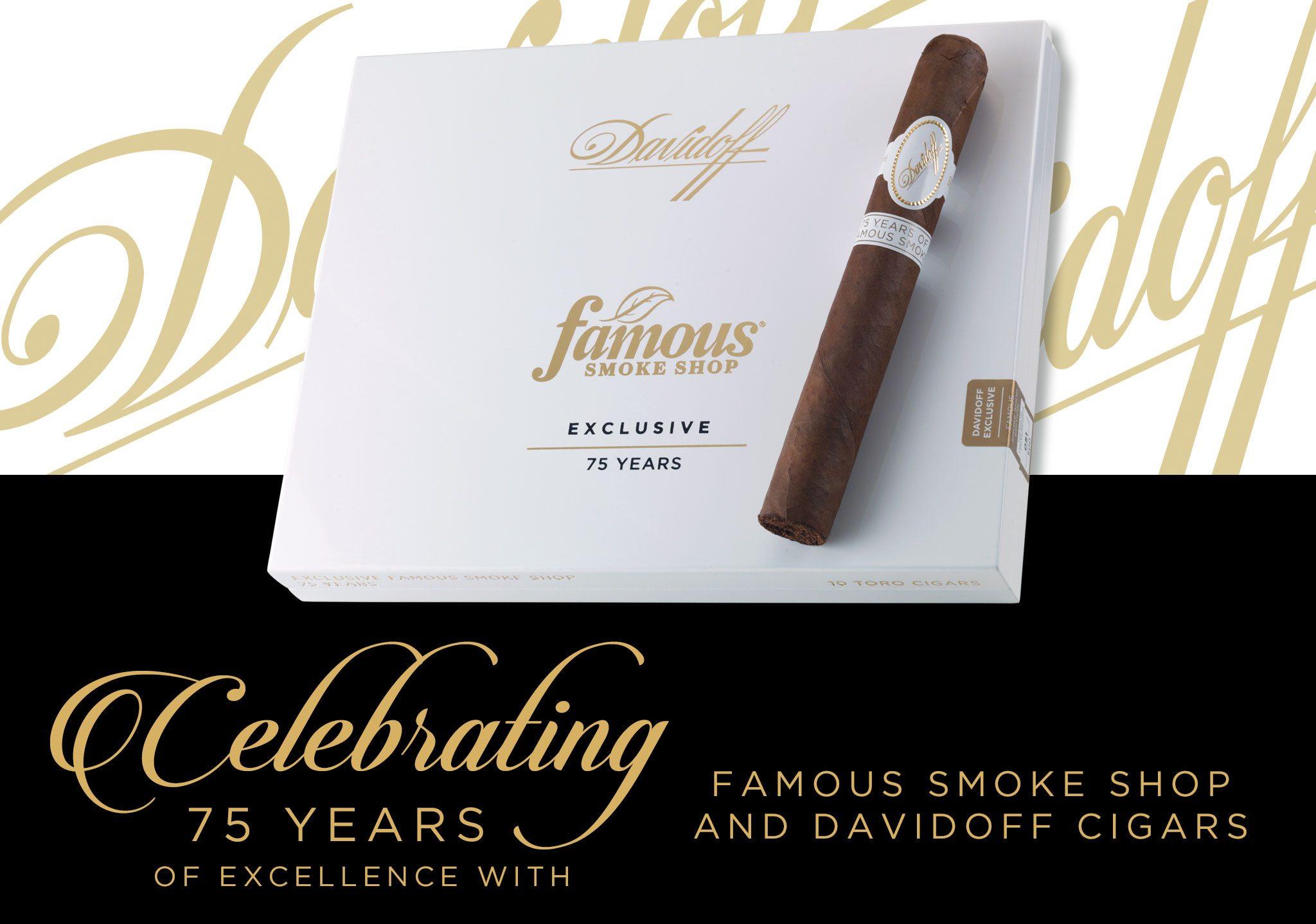 Cigar News: Famous Announces Davidoff 75th Anniversary Cigars