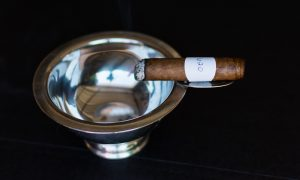 Blind Cigar Review: Alpha | Absinthe Infused Claro Half Corona
