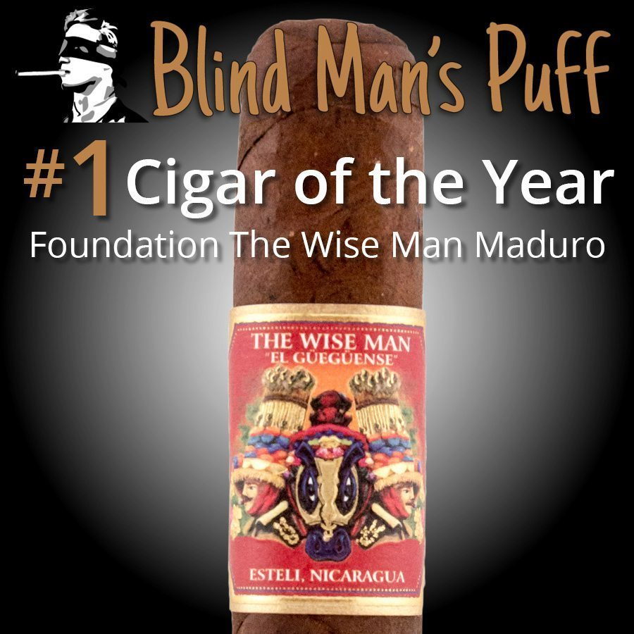 Top 25 Cigars of the Year - 2017 - Blind Man's Puff