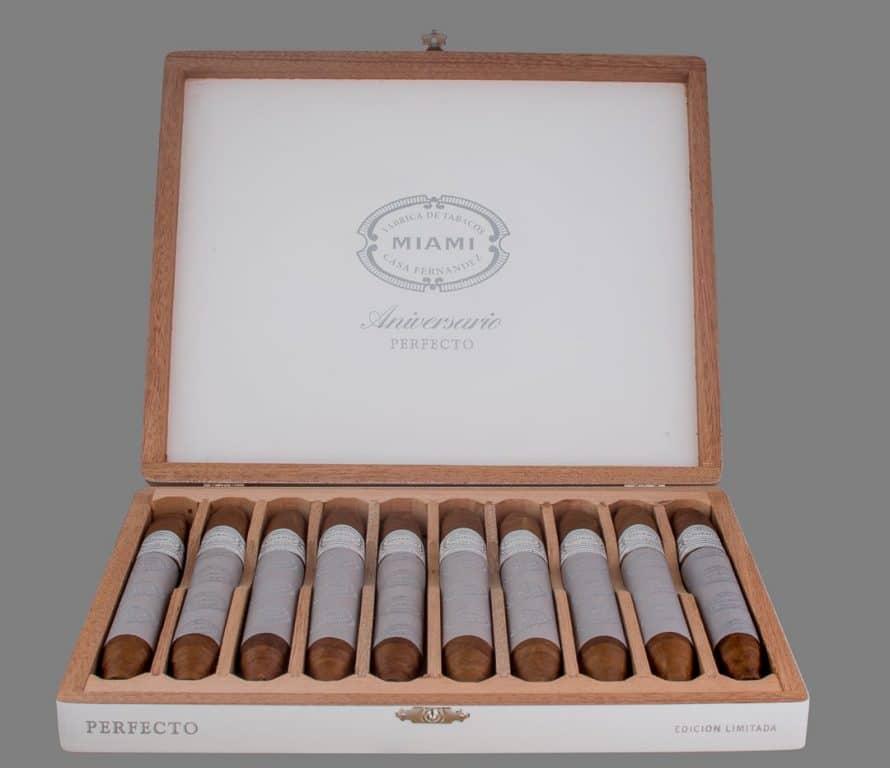 Cigar News: Aganorsa Leaf Announces Aniversario Perfecto